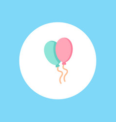 balloons icon sign symbol vector image