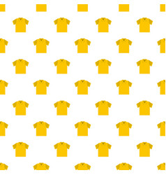 clean t shirt pattern seamless vector image