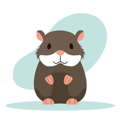 Hamster rodent animal vector