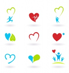 Health and medical icons vector