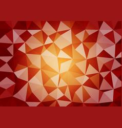 Multicolor geometric triangular style gradient vector