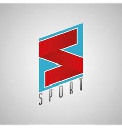 S logo sport logo sport design s letter concept vector