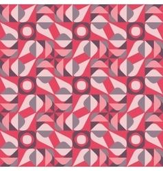 Seamless geometric square triangle circle vector