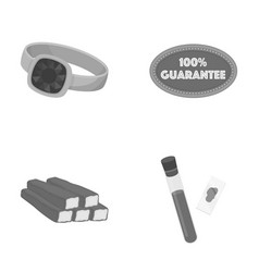 Trade leisure business and other monochrome icon vector