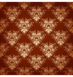 royal seamless background vector image vector image