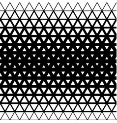 geometric modern seamless background with triangle vector image