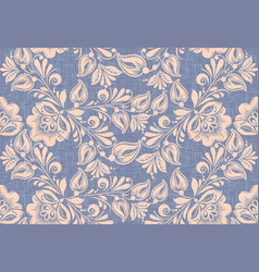 traditional russian style seamless pattern vector image vector image