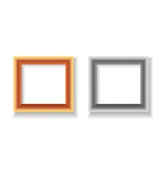 photo frame illustration vector image vector image
