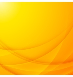 Abstract shining yellow wavy background vector image