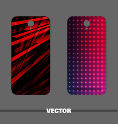 bright man covers for phone vector image