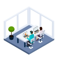 Coworking And Business vector