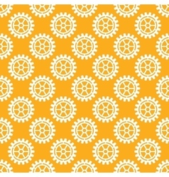gears icons seamless patterns vector image
