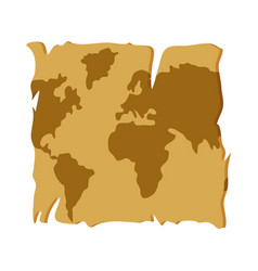 global map geography location travel vector image