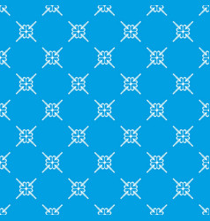 Grainy wheat pattern seamless blue vector