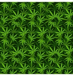 Marijuana background seamless patterns vector