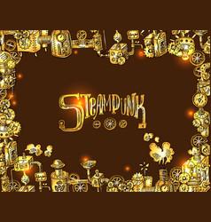 Steampunk fram vector