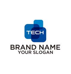 Tech logo vector