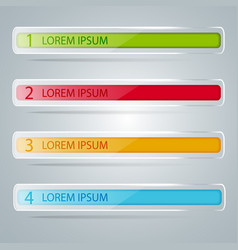 Template to your business presentation vector