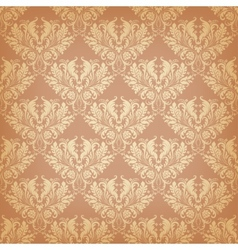 seamless background in vintage style vector image vector image