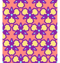 pink yellow purple blue abstract geometric vector image vector image
