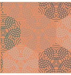 Seamless wallpaper pattern red vector