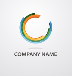 universal logo vector image