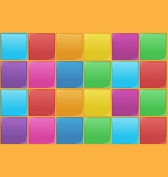 colourful square seamless pattern vector image