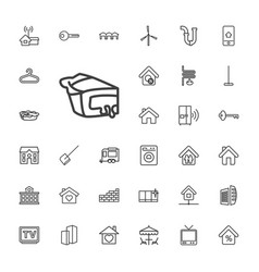 Home icons vector
