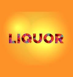 Liquor theme word art vector
