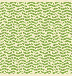 greenery and white zigzag spotted seamless pattern vector image vector image
