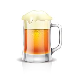 object beer mug vector image
