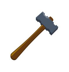 Hammer construction tool equipment vector