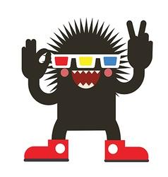 Cinema monster vector