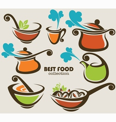 Best food vector
