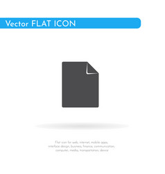 blank icon for web business finance and vector image