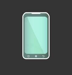Geometric Smart Phone vector