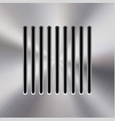 Music metal audio speaker vector