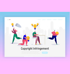 Online journalist write creative copyright vector