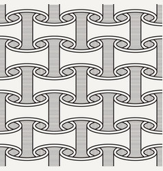 Seamless pattern like paper scrolls vector