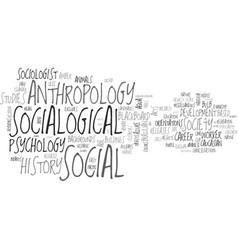 Socialogical word cloud concept vector