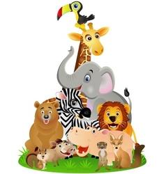 animal safari vector image vector image