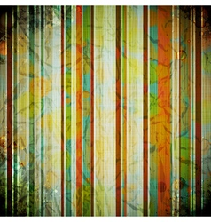 Abstract crumpled retro background vector image