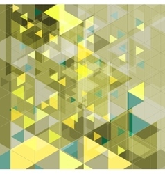 Abstract tech retro geometric background vector