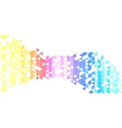 Abstract triangles creative backgorund triangles vector