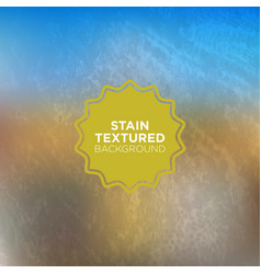 Beach shaded grunge background with stained vector