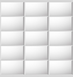 Beveled ceramic tiles pattern vector