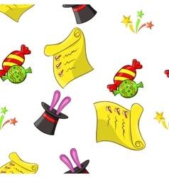 Children party pattern cartoon style vector
