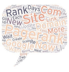 How To Get A Pagerank In Days text background vector