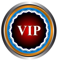 Vip symbol vector image