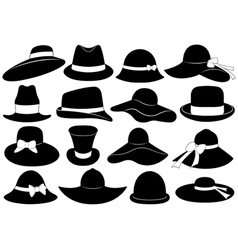 Hats vector image vector image
